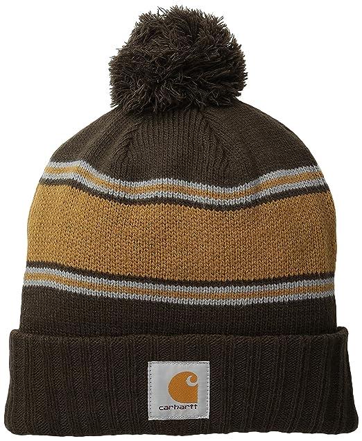 3b0b862a Carhartt Men's Rexburg Graphic Hat, Dark Brown One Size at Amazon ...