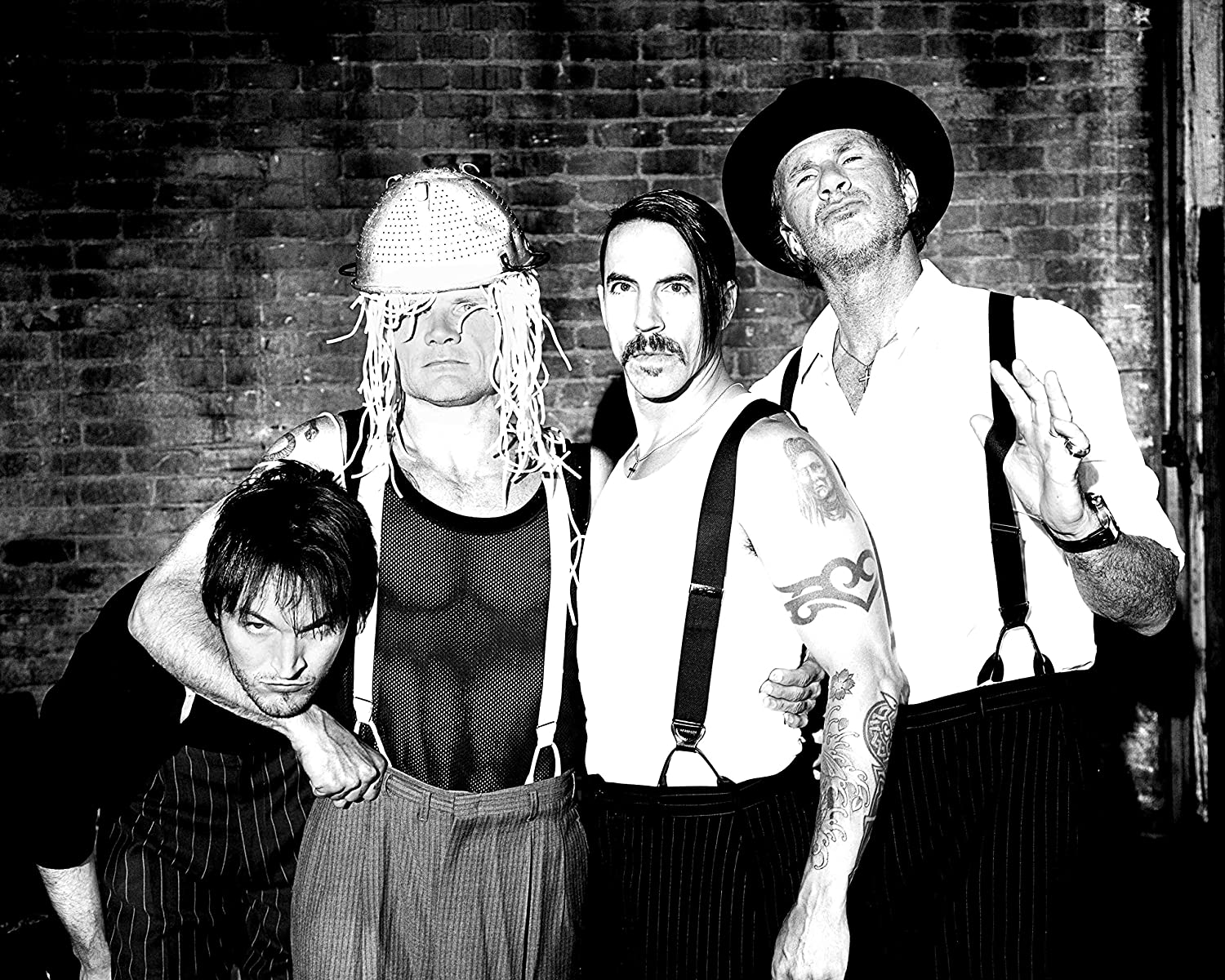 Red Hot Chili Peppers Band Concert Poster Home Decor #1 16x20 Inches
