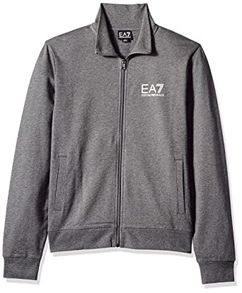 ee4f27bc65 Emporio Armani EA7 Men's Train Core French Terry Zip Up Sweater