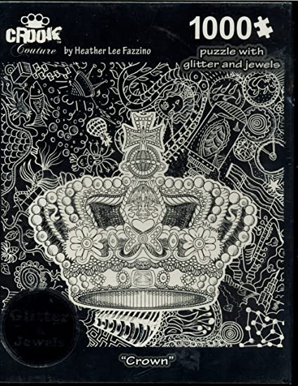 Crook Couture Crown by Heather Lee Fazzino 1000 piece puzzle