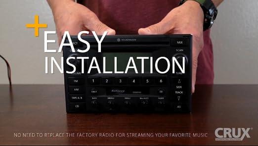 Crux BTS-MZ1 Bluetooth Music Streaming