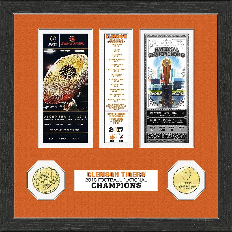 Amazon.com : NCAA Clemson Tigers Highland Mint 2016 Football ...