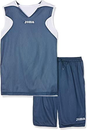 Joma Basket Reversible Set de equipación de Manga Corta, Unisex ...