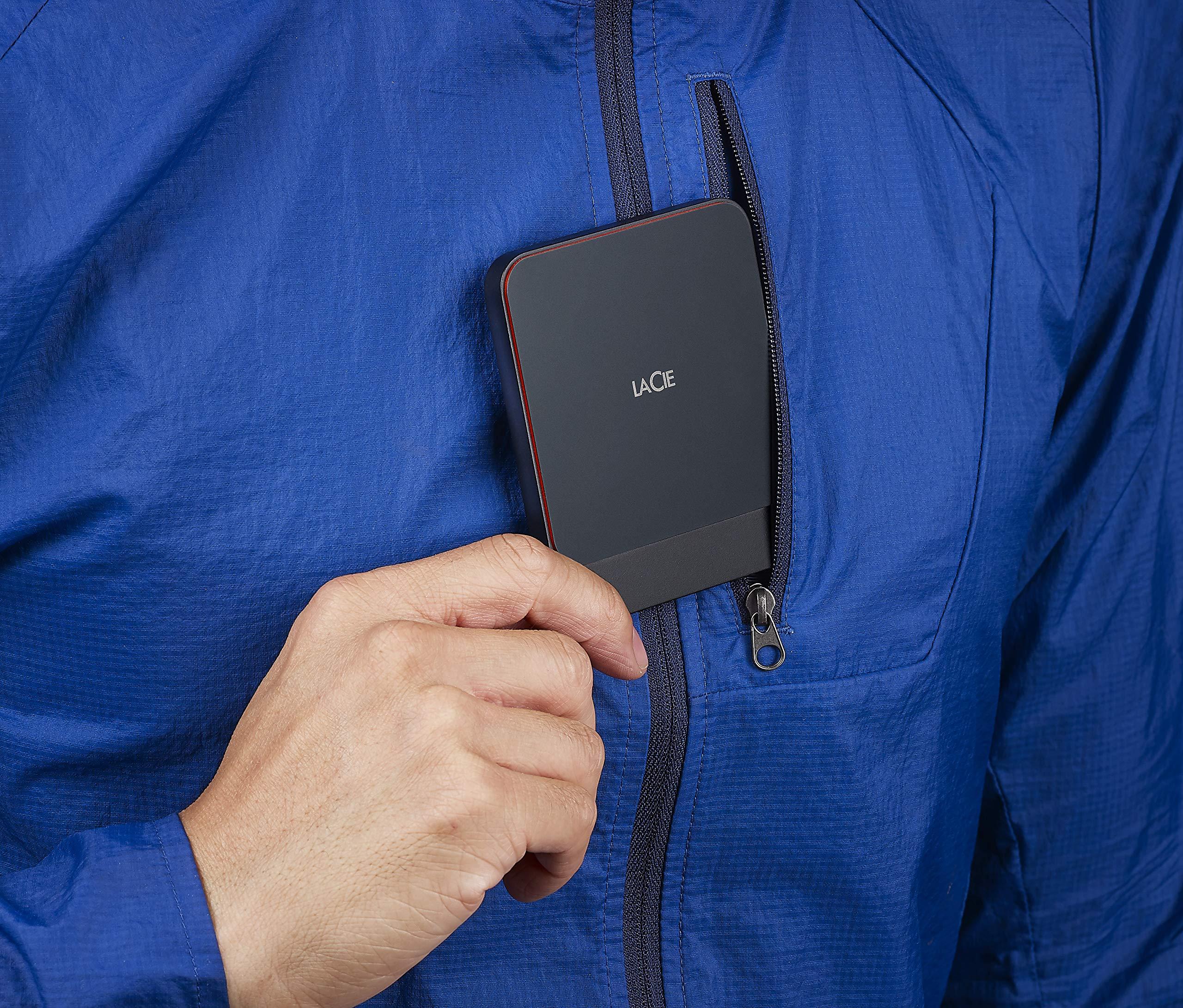 LaCie Portable SSD High Performance External SSD USB-C USB 3.0 1TB STHK1000800 by LaCie (Image #6)