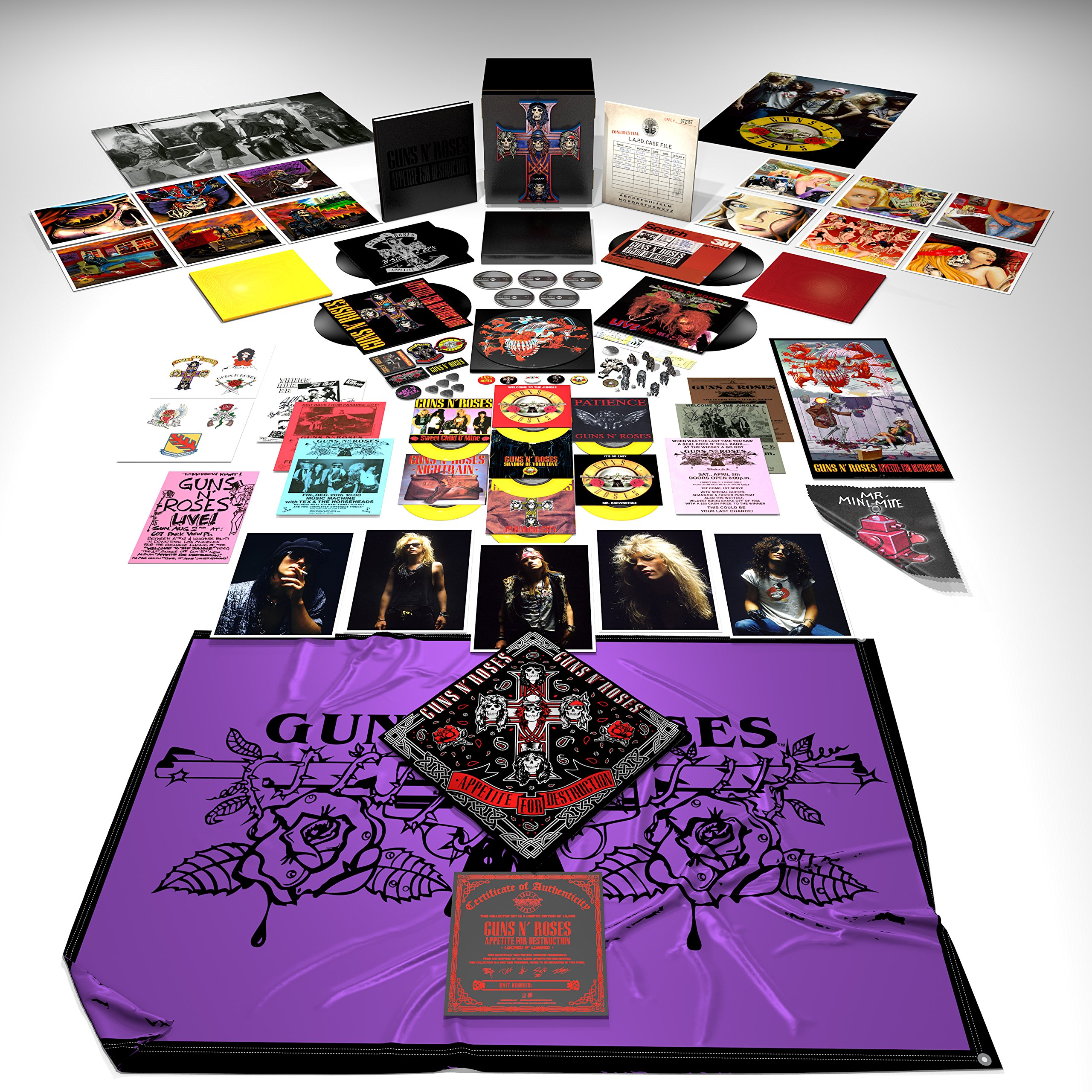 Vinilo : GUNS N ROSES - Appetite For Destruction: Locked N Loaded Box Set (18 Discos)