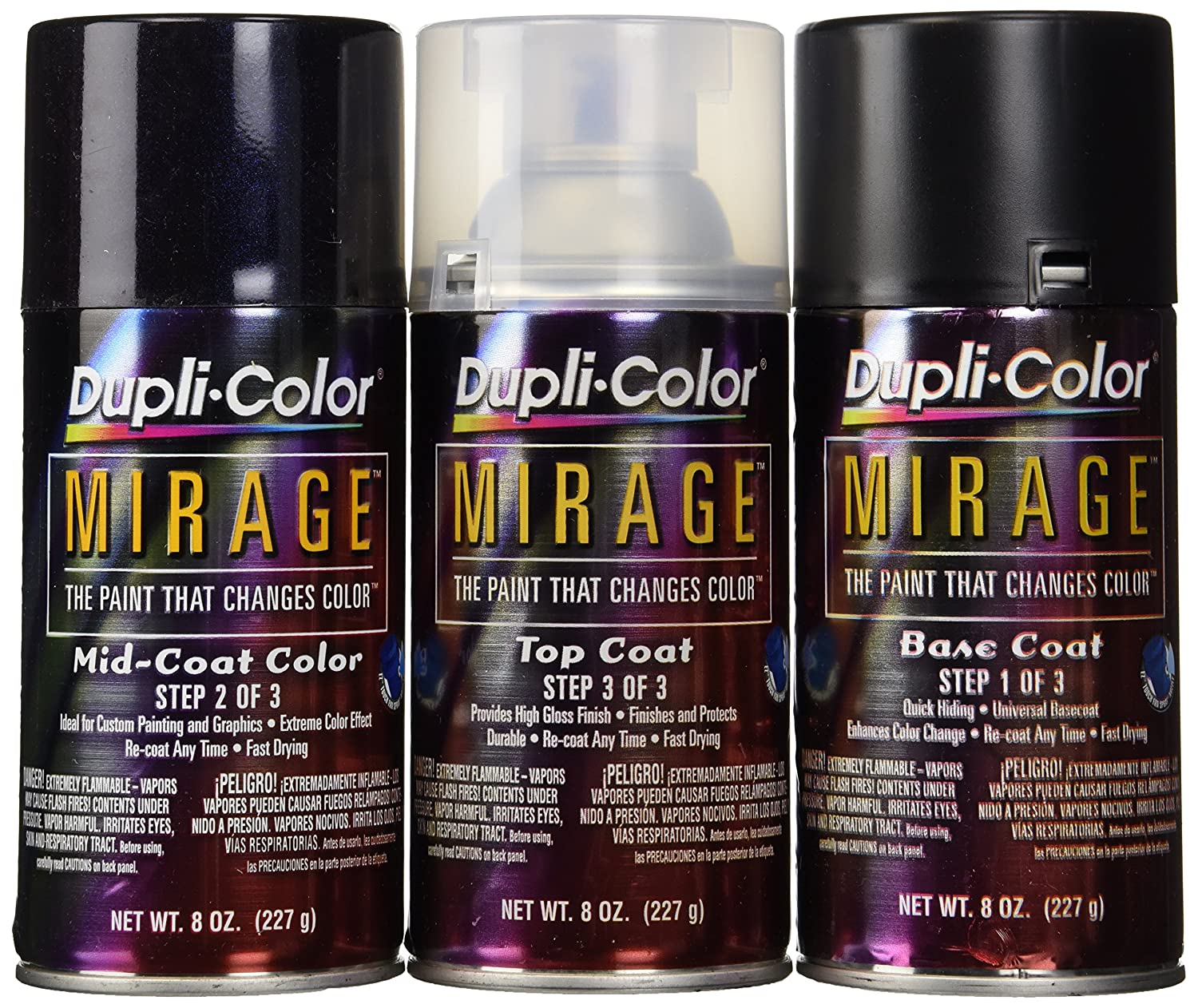 Dupli-Color MP403 Red/Blue Mirage Kit, Paint, Body
