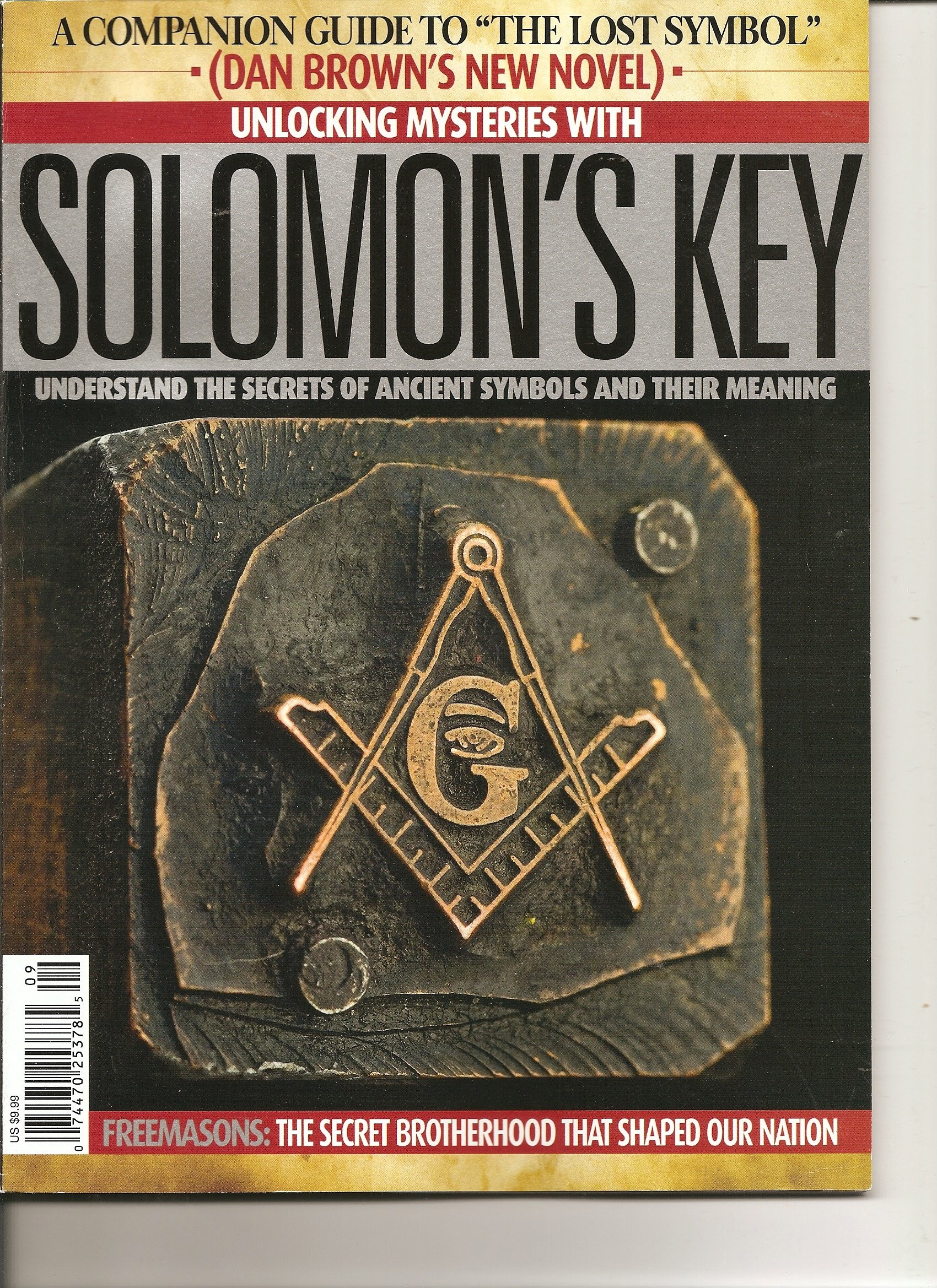 Image for Unlocking Mysteries with Solomon's Key Magazine (A Companion Guide to The Lost Symbol. Understanding the Secrets of Ancient Symbols and their Meaning, 2009)