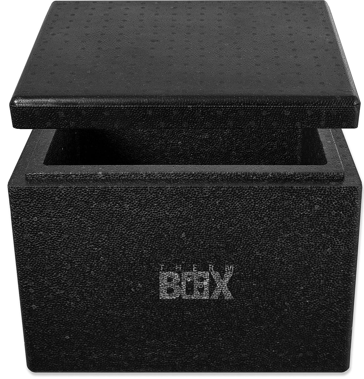THERM BOX Profibox 27B | Innen: 37x26x29cm | Wand:4,0cm | Volumen: 27,9L | Styroporbox Thermobox Kühlbox Warmhaltebox