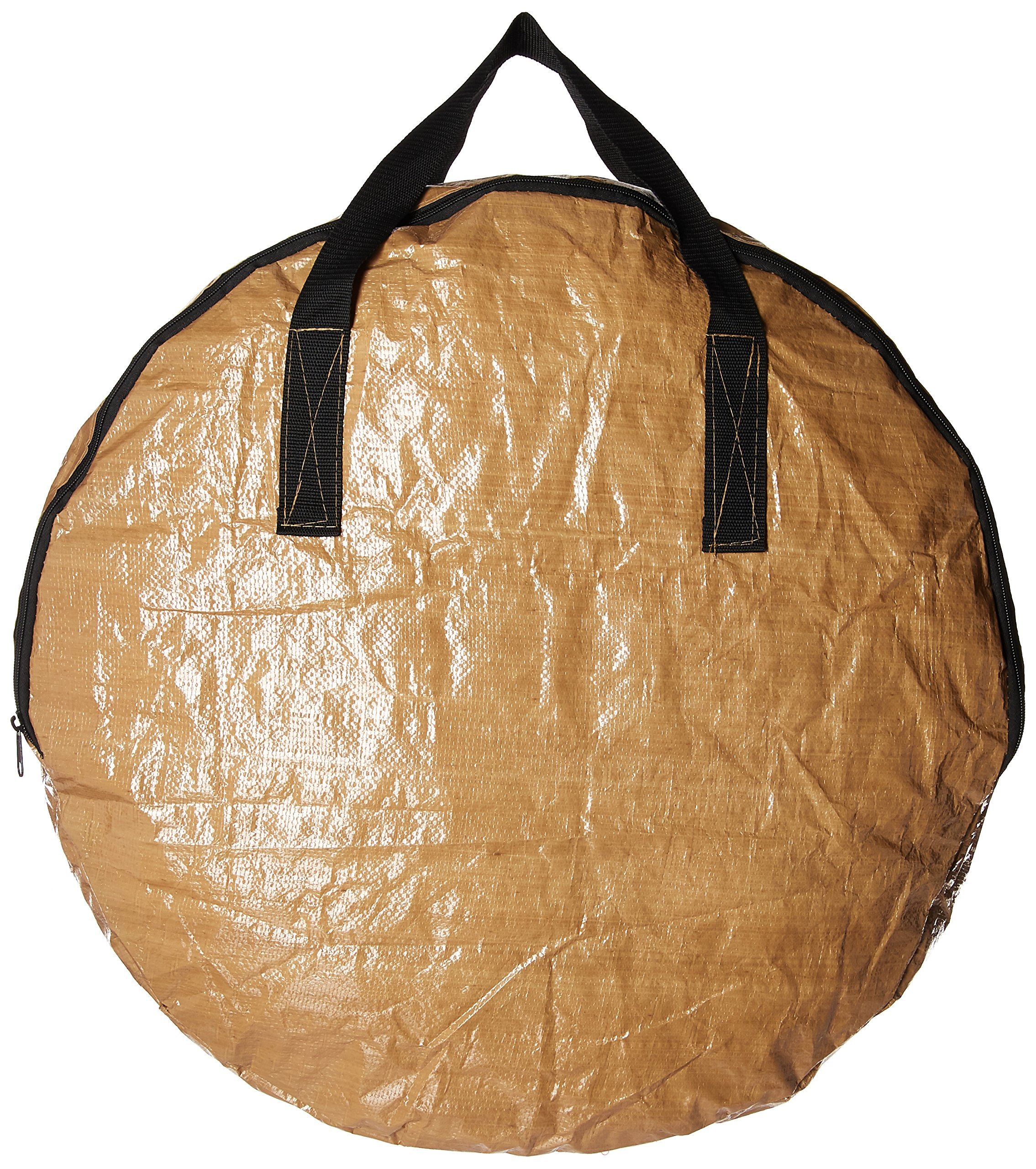 BenefitUSA Heavy Duty Christmas Wreath Storage Bag (Tan, For 24-Inch Wreaths) by BenefitUSA