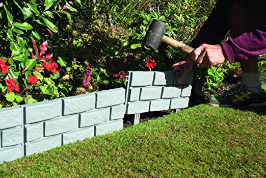 Greenhurst 4148 - Set de 4 vallas para jardín con diseño de ...