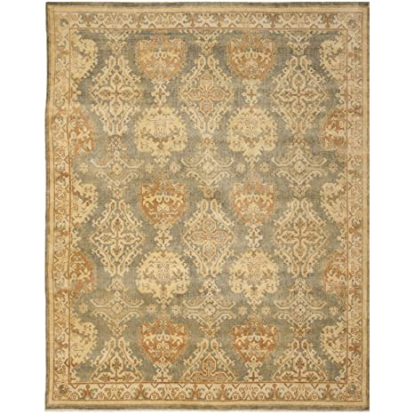 Amazon.com: Safavieh oushak Collection osh125 a hand-knotted ...