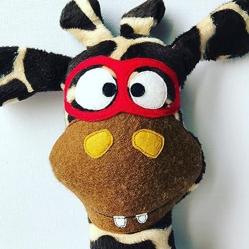 Rudi Giraffa giocattolo RocketHandmade Giraffa giocattolo RocketHandmade coccolone Rudi coccolone hQdtsr