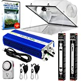 Yield Lab Pro Series HPS+MH 600W Air Cool Hood Double Ended Complete Grow Light Kit