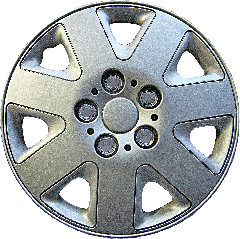 Brand new car 13 14 16 black /& pink le mans wheel trims 16 inch hub caps full set of 4
