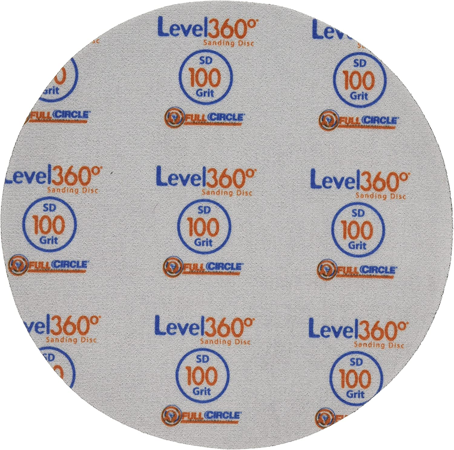 SD100-5 8-3//4 Full Circle International Inc Level360 Sanding Disc 100 Grit for use with Radius360 Sanding Tool or Drywall Power Sanding Tools