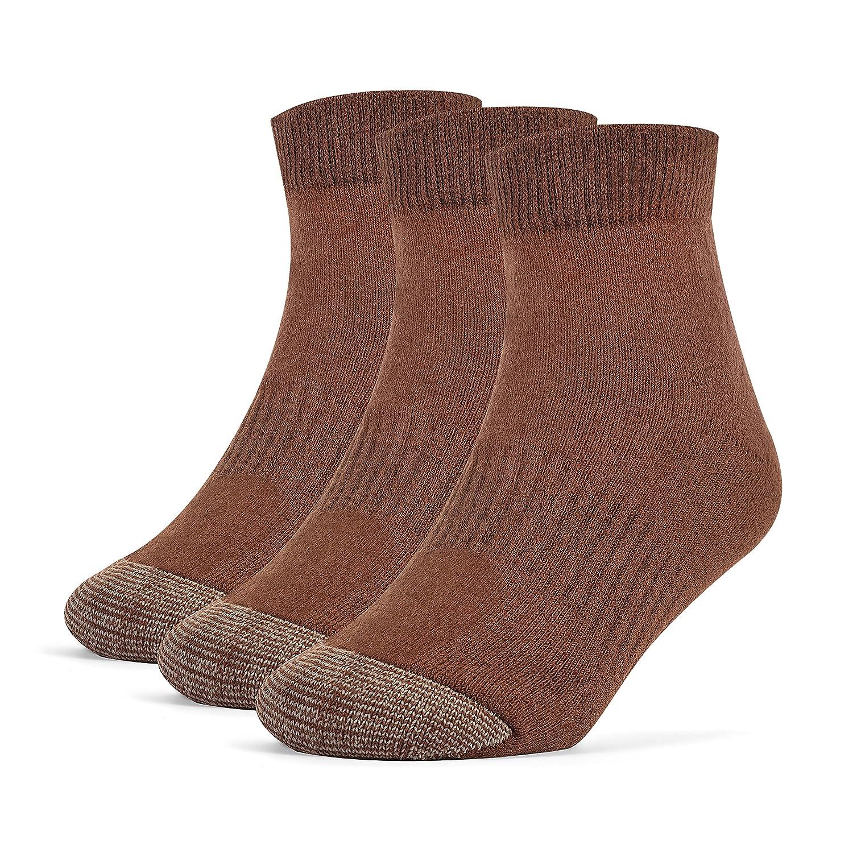 Galiva Boys' Cotton Extra Soft Ankle Cushion Socks - 3 Pairs GL220