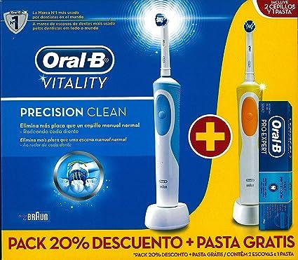 Braun M289757 - Cepillo dental duo vitality precision clean 2 unidades