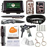 Emergency Survival Kit - 35 PCS Outdoor Gear and Survival Tools for Everyday Carry, Backpacking, Camping Essentials & Hiking. Prepper Supplies, Bushcraft & Bug Out Gear. Best Preparedness & EDC Supply