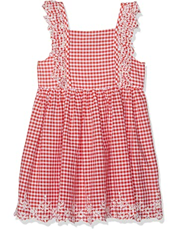 Baby & Toddler Clothing Open-Minded Baby Girls Clothes 9-12 Months Checked Party Occasion Dress Dresses