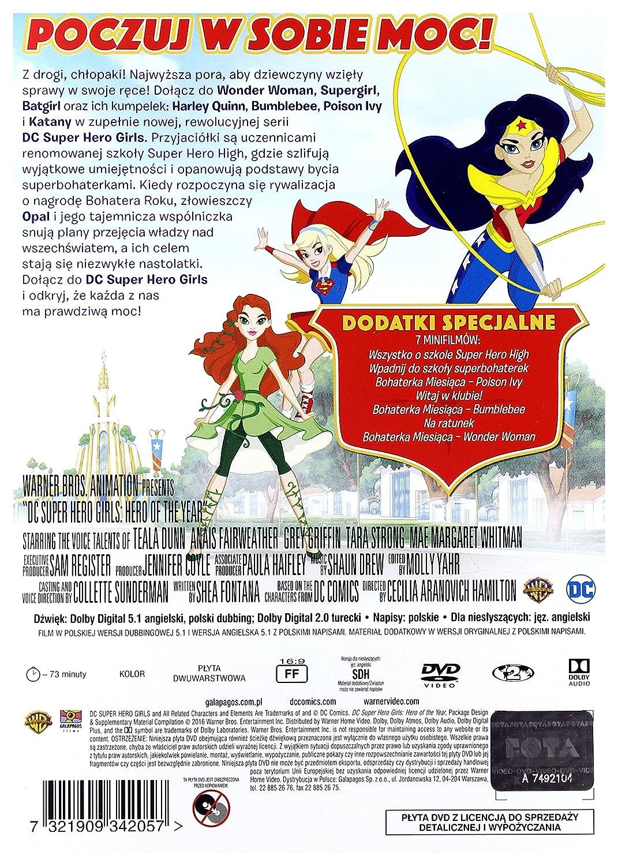 DC Super Hero Girls: Hero of the Year DVD Region 2 IMPORT No hay versión española: Amazon.es: Grey Griffin, Anais Fairweather, Mae Whitman, Tara Strong, ...