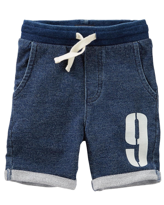 OshKosh Bgosh Big Boys French Terry Varsity Shorts 14 Kids
