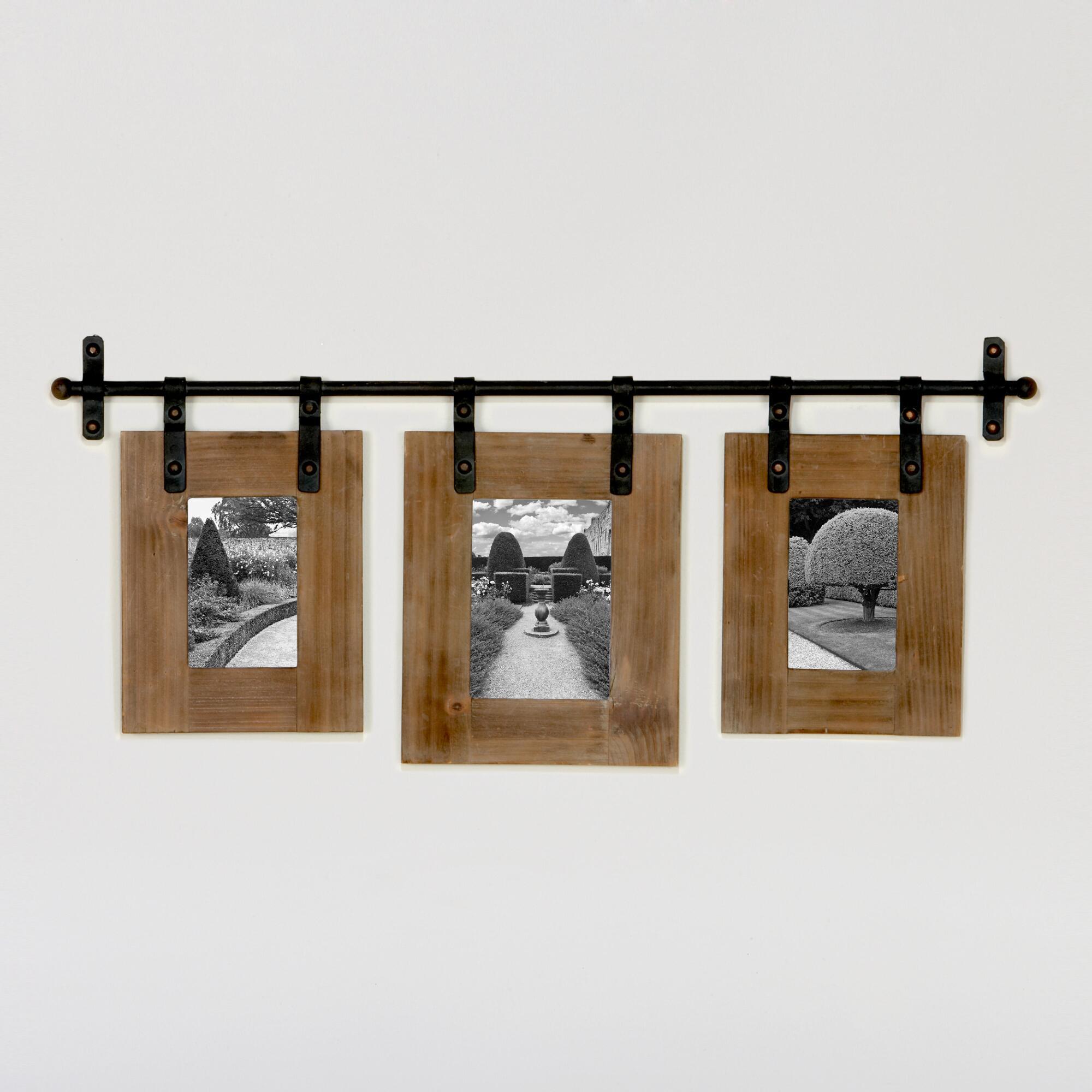 Jacob 3-Photo Wall Frame | World Market