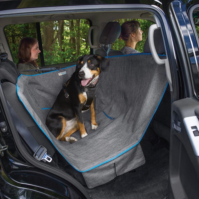 Heather Charcoal Half Heather Charcoal Half Kurgo 01783 Heather(TM) Half Dog Hammock, Heather Grey, One Size