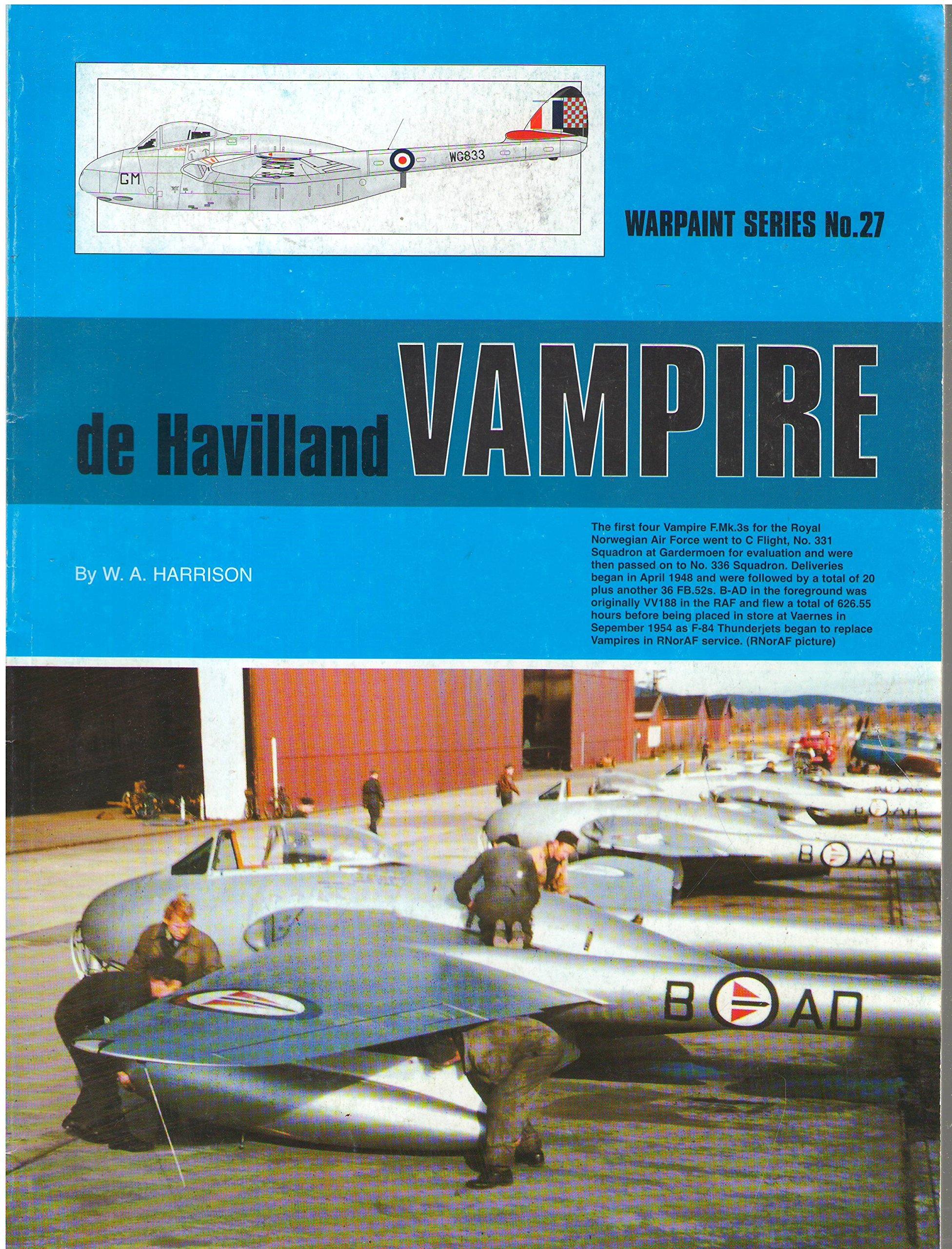 Warpaint Series No. 27 - De Havilland Vampire pdf