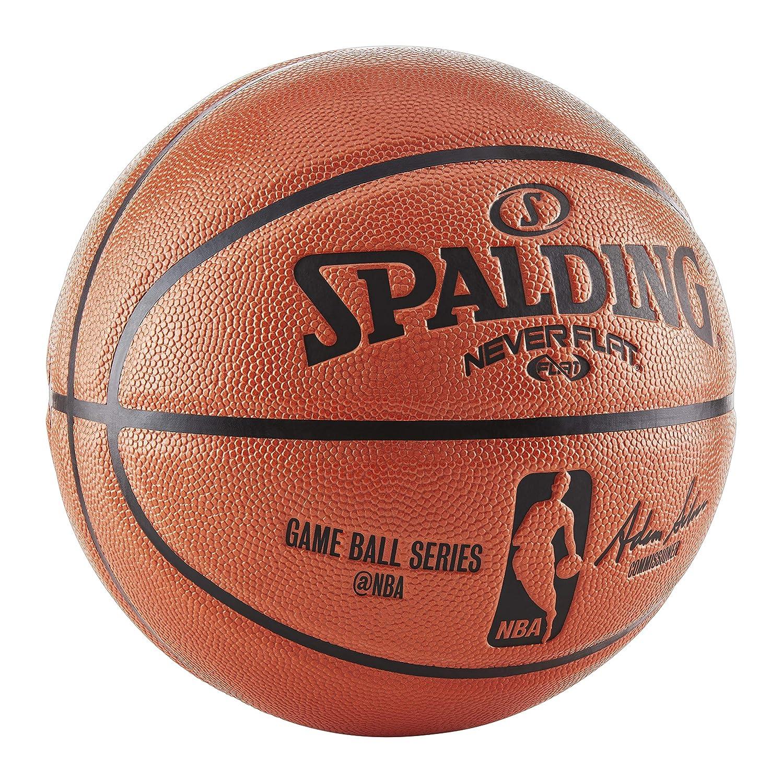 5dd888b0d0c Amazon.com   Spalding NBA Never Flat Game Replica Ball