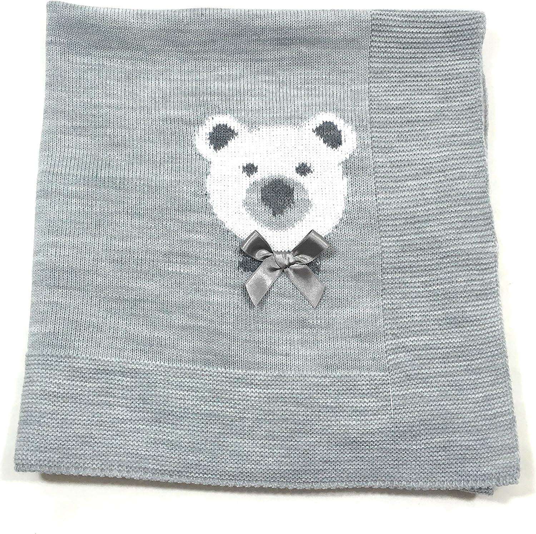 Danielstore-Toquilla de lana para bebés y recién nacidos - Talla Unica, Gris: Amazon.es: Bebé