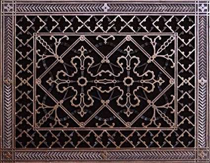 Decorative Grille, Vent Cover, or Return Register. Made of Urethane ...
