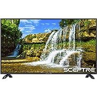 "Sceptre X415BV-FSR 40"" Slim LED FHD 1080p TV Flat Screen HDMI MHL High Definition and Widescreen Monitor Display ATSC/QAM 3 x HDMI Ports, Metal Black (2019)"