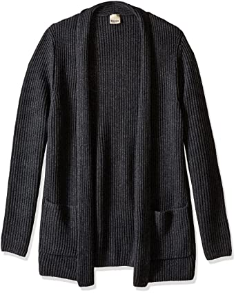 Baldwin Men's Kimono Cardigan, Charcoal Heather, XL at Amazon ...