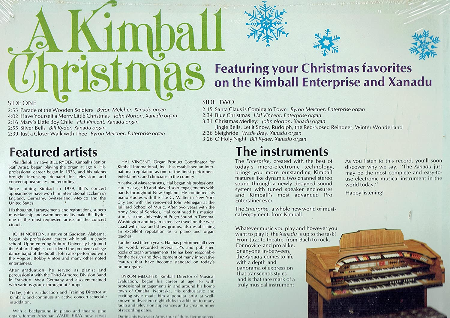 Bill Ryer-William Bray - A Kimball Christmas - Amazon.com Music