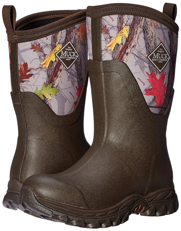 Muck Boot Women's Arctic Sport II Mid Snow B01LZKXKD0 10 B(M) US|Brown/Hot Leaf Camo