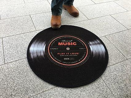 Record Music Teppich 67 cm