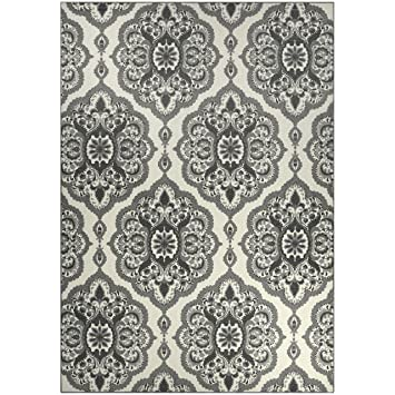Amazon Com Maples Rugs Area Rugs Vivian 7 X 10 Non Slip Large Rug