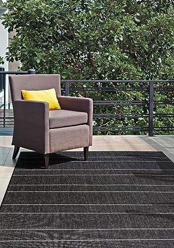 Editors' Choice: nuLOOM Pinstriped Taliah Indoor/Outdoor Area Rug