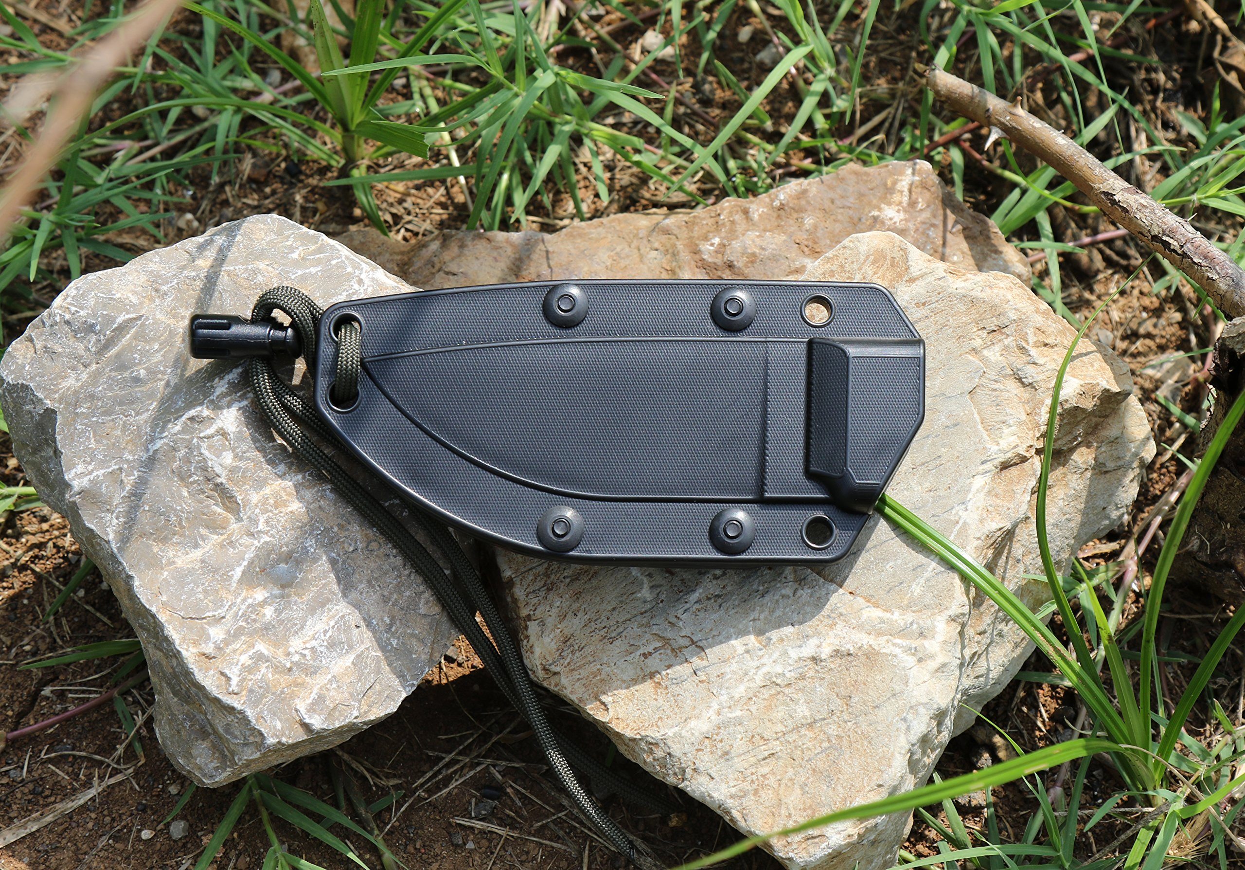 ESEE Knives 3P Fixed Blade Knife with Molded Polymer Sheath by ESEE (Image #5)