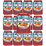 San Pellegrino Blood Orange, 11.5 oz cans, pack of 12
