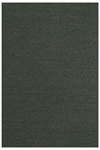 Indoor Outdoor Carpet with Heavy Duty Non Slip Backing Area Rugs Teal – 3 x5