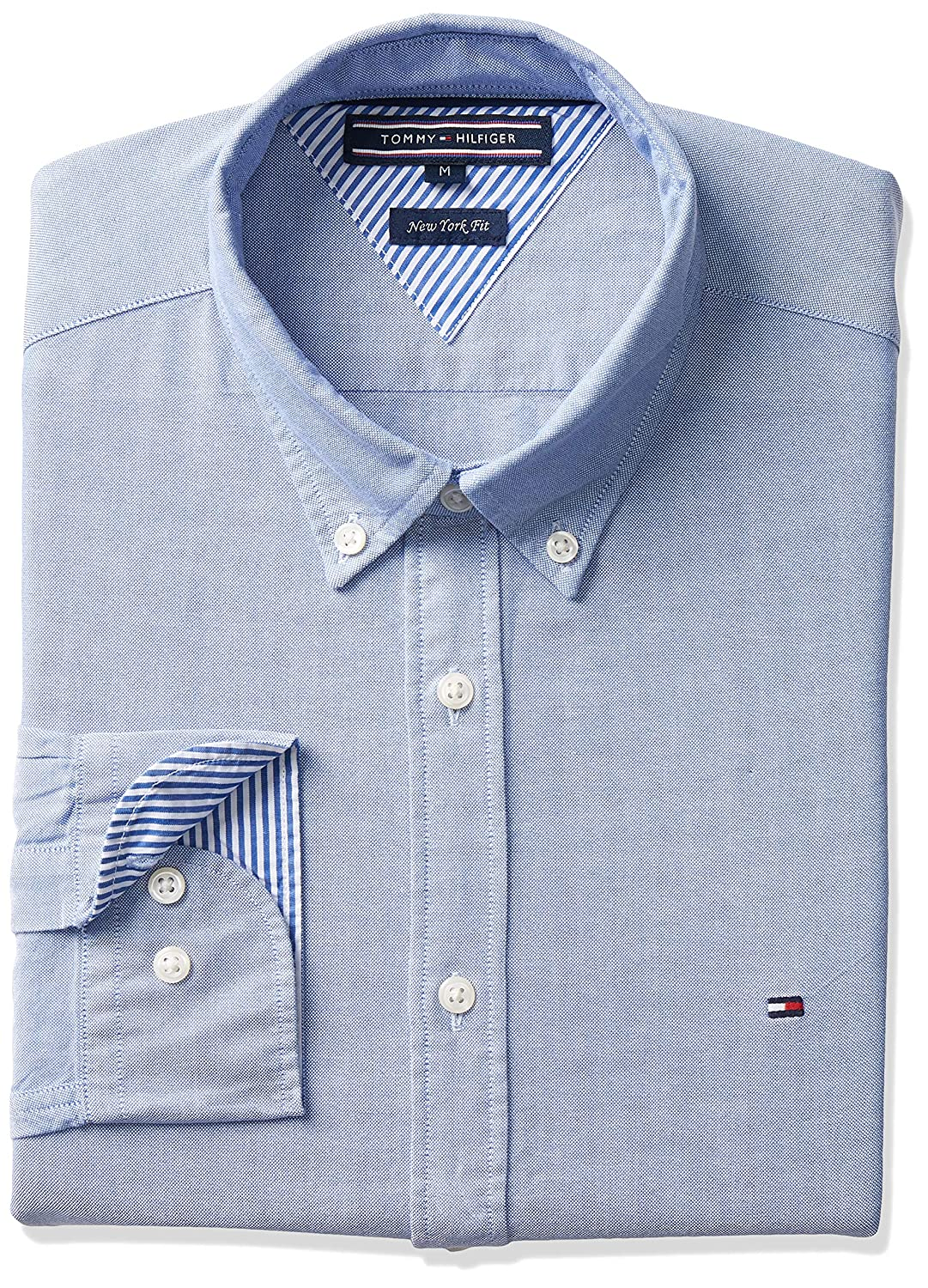 1a8293982 Tommy Hilfiger Men's Ivy Oxford Shirt: Amazon.com.au: Fashion