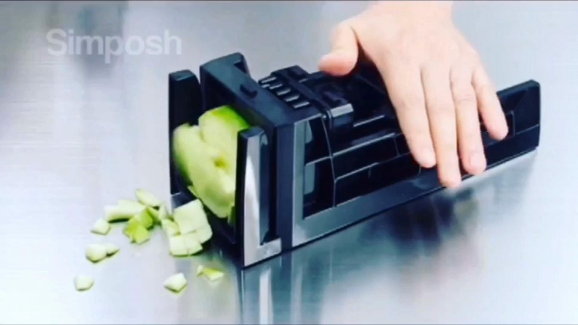Black Simposh Easy Food Dicer