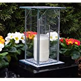 Kerzenlaterne Cube SS 30cm