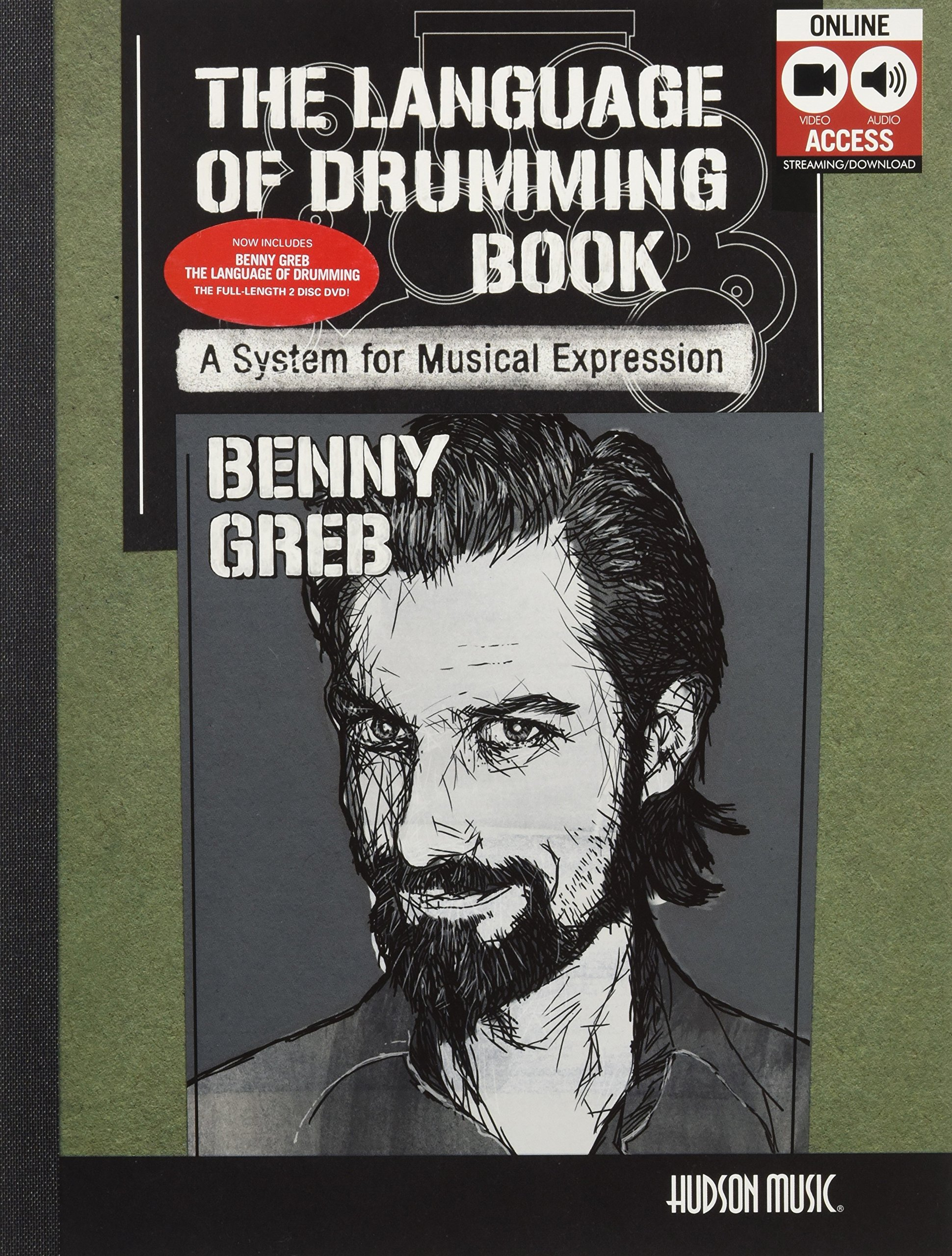 Benny Greb - The Language of Drumming: Includes Online Audio & 2-Hour Video by Hudson Music