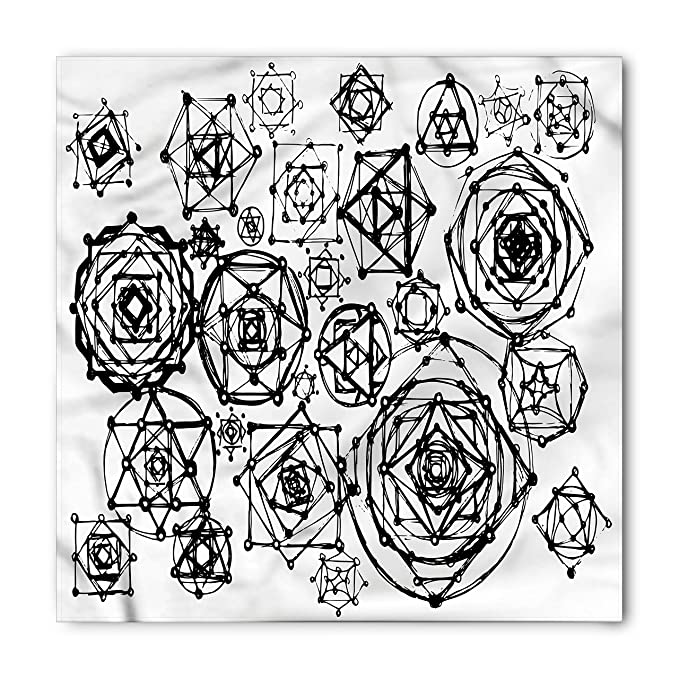Amazon com: Lunarable Sacred Geometry Bandana, Occult