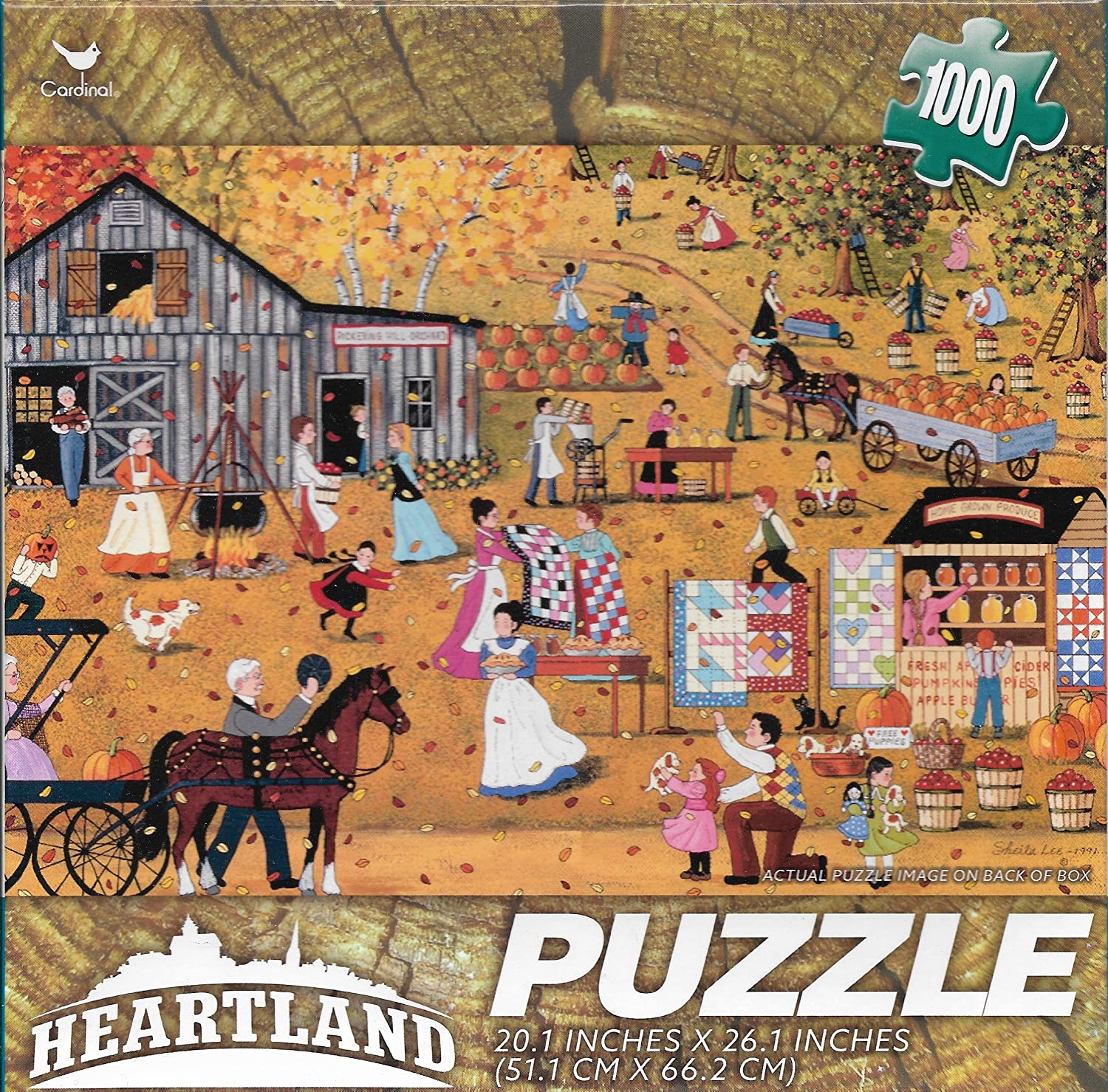 October Gave Party By Sheila Lee Elstad 1000 Piece Puzzle by George