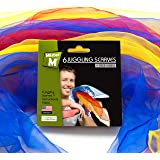 6 Juggling / Dancing Scarves + FREE online Instructional Video by MisterM