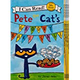 Pete the Cat: Big Reading Adventures: 5 Far-Out Books in 1 Box! (My First I Can Read)