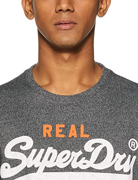 Amazon.com: Superdry Vintage Authentic Duo Tee, S: Clothing